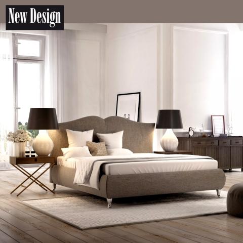 Łóżko MILANO NEW DESIGN tapicerowane