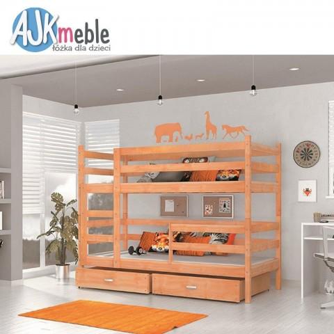 Łóżko piętrowe JACEK AJK MEBLE dziecięce