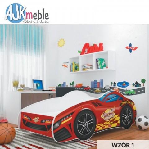 Łóżko CARS AJK MEBLE dziecięce