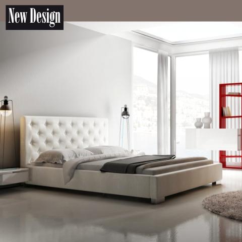 Łóżko LOFT NEW DESIGN tapicerowane