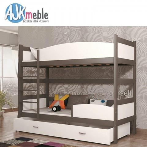 Łóżko piętrowe TWIST AJK MEBLE dziecięce