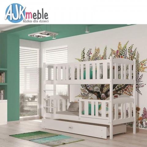 Łóżko piętrowe KUBUŚ AJK MEBLE dziecięce