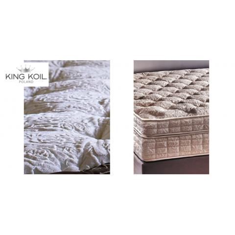 Materac AMETHYSTE KING KOIL kieszeniowo-lateksowy