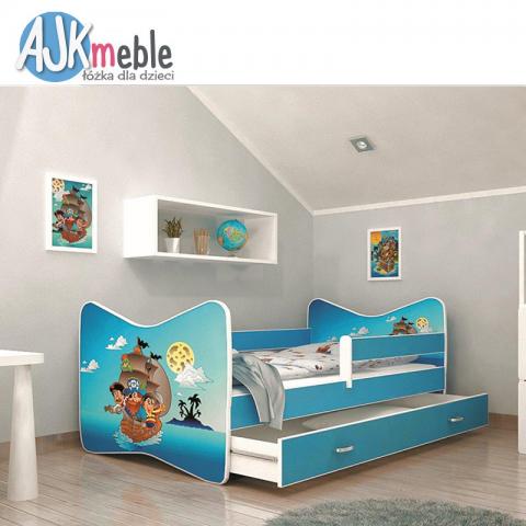 Łóżko TOMI AJK MEBLE dziecięce