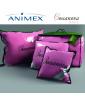 Poduszka trzykomorowa z pierza BOSSANOVA BASIC ANIMEX