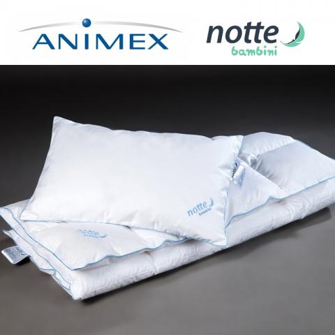 Poduszka jednokomorowa NOTTE BAMBINI ANIMEX puchowa