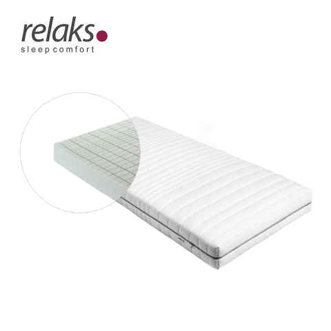 Materac LIGHT SILVER RELAKS piankowy