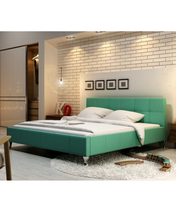 Łóżko FUTURA NEW DESIGN tapicerowane