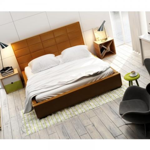 Łóżko QUADDRO MIDI NEW DESIGN tapicerowane