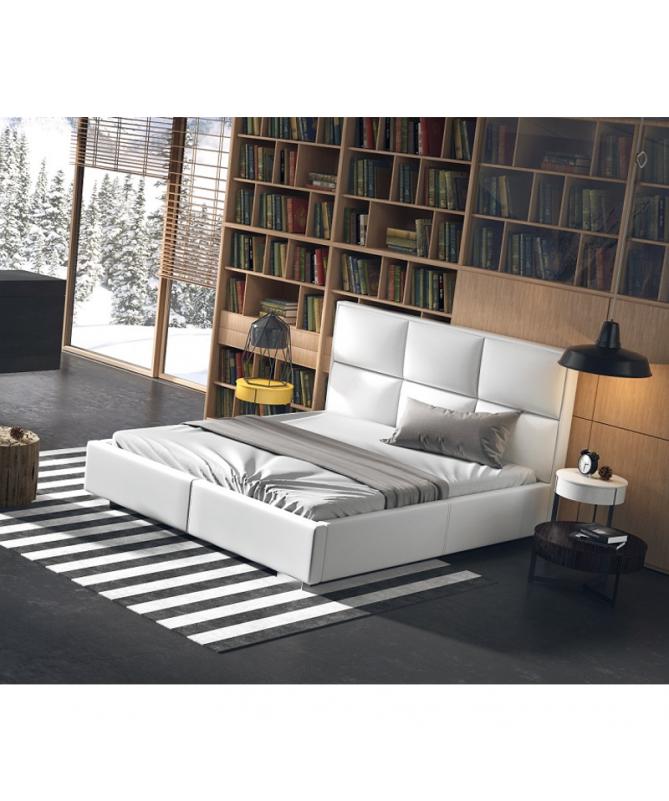 Łóżko QUADDRO PLUS NEW DESIGN tapicerowane
