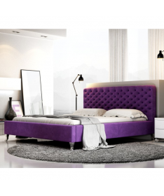 Łóżko LAZIO NEW DESIGN tapicerowane
