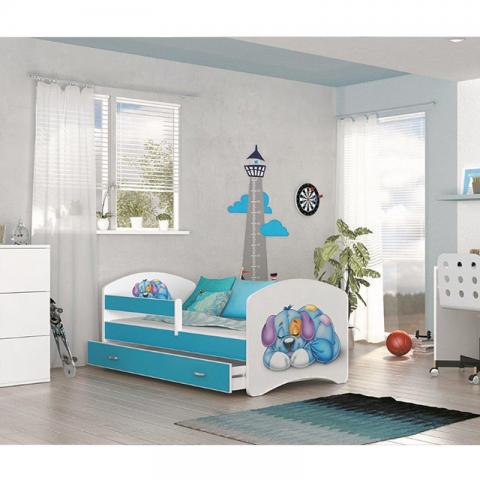 Łóżko LUCKY AJK MEBLE dziecięce