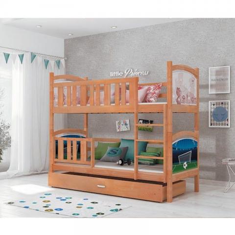 Łóżko piętrowe TAMI AJK MEBLE dziecięce