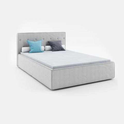 Łóżko MIO ABSYNTH tapicerowane