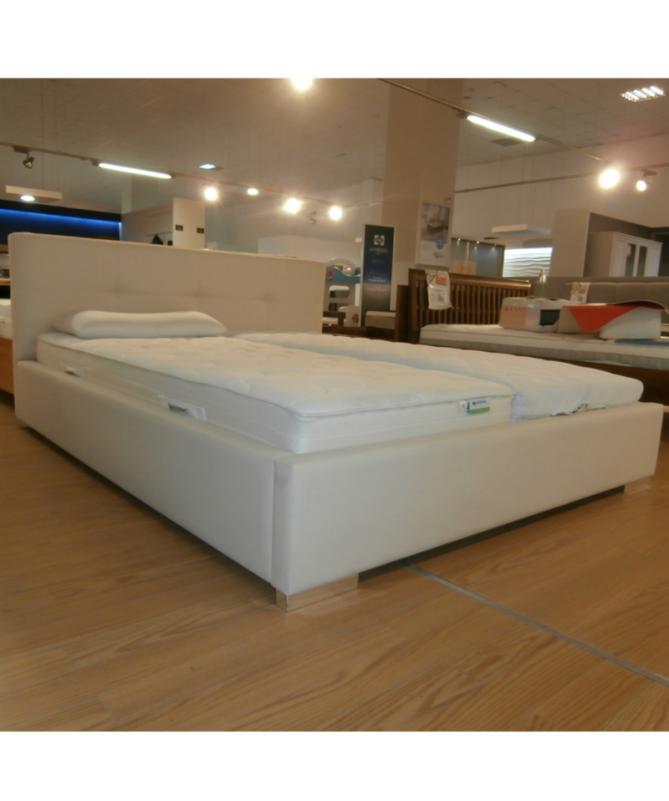 Łóżko MODEL VIII NEW CONCEPT 160x200 tapicerowane – OUTLET