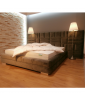 Łóżko LUXURY III 300 NEW CONCEPT 160x200 tapicerowane – OUTLET