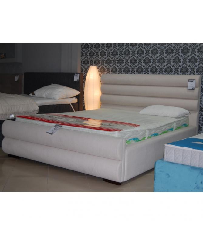 Łóżko LILY HILDING 160x200 tapicerowane – OUTLET