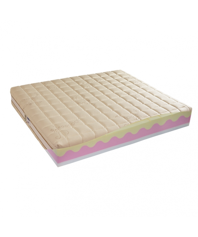 Materac POLIONDA WATERLILY MOLLYFLEX 160x200 piankowy – OUTLET