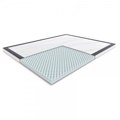 Materac JIVE HILDING 140x200 nawierzchniowy – OUTLET