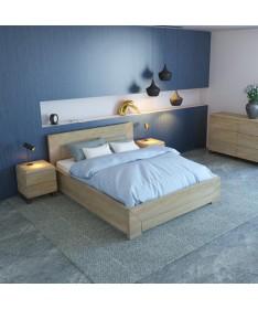 Łóżko drewniane Lund Plus