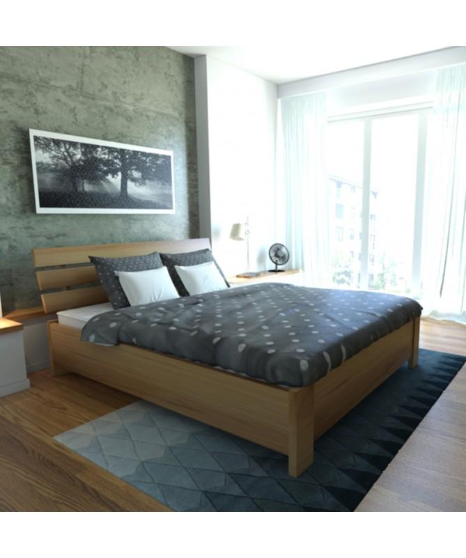 Łóżko HALDEN PLUS EKODOM drewniane