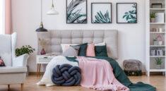 kolory w sypialni - jakie wybrać?