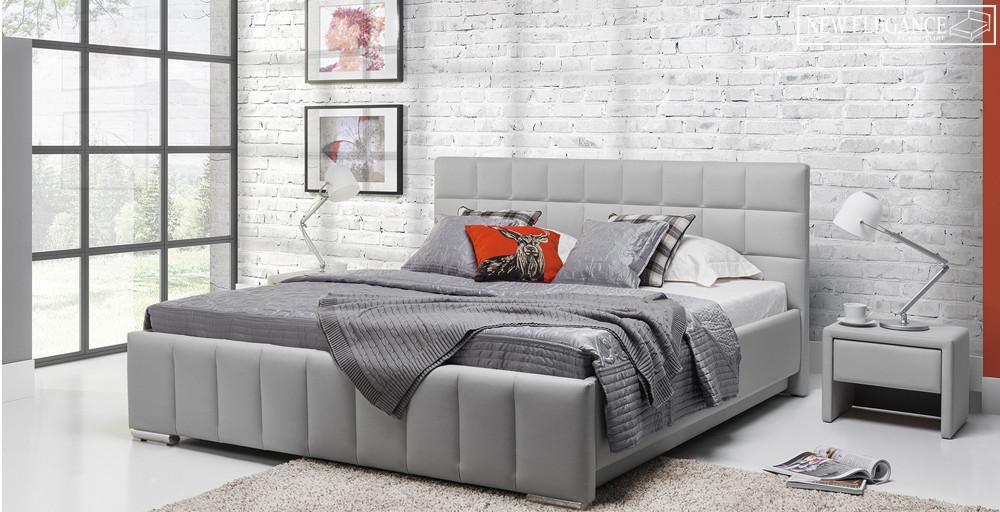 styl industrialny - sypialnia