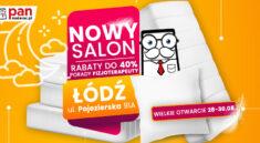Otwarcie salonu Pan Materac w Łodzi