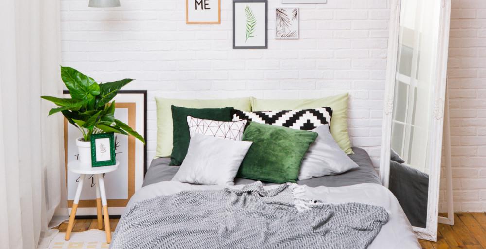 styl boho - przykładowa sypialnia