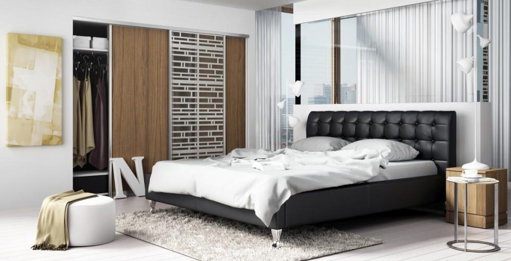 łóżko tapicerowane madison lux