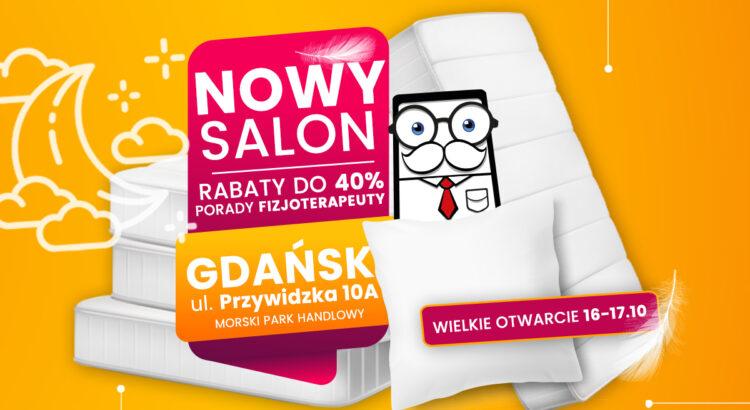 Otwarcie Pan Materac w Gdańsku
