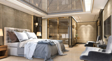 sypialnia w stylu amerykańskim
