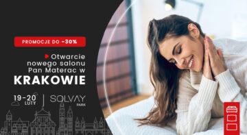 Otwarcie salonu Pan Materac w Krakowie