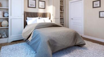 Sypialnia w stylu klasycznym - aranżacja