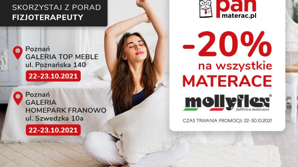Mollyflex z rabatem 20%